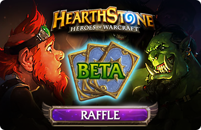 Hearthstone Beta Key Raffle