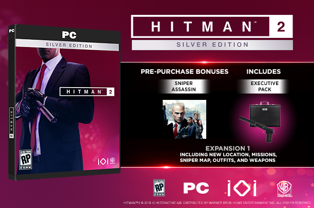 hitman 2 gold edition content