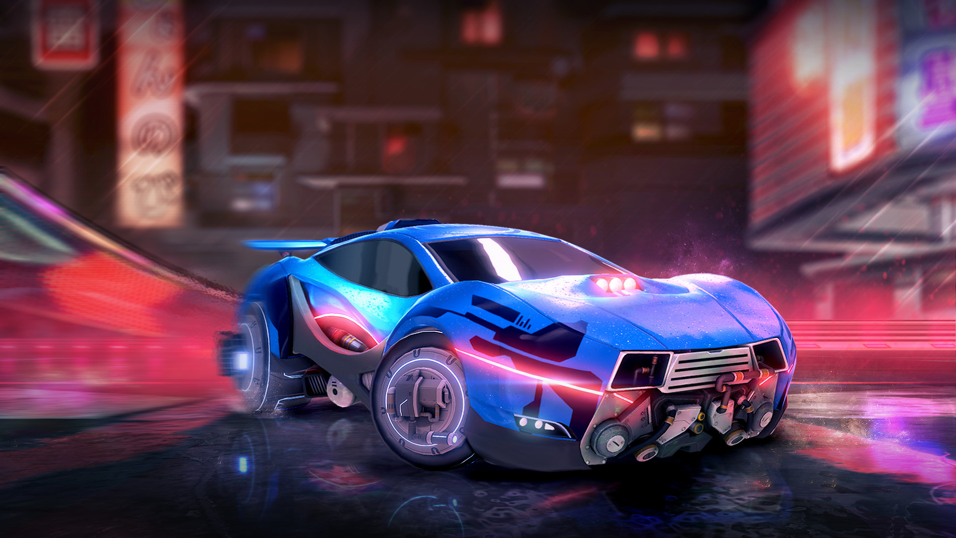 Rocket Car Games