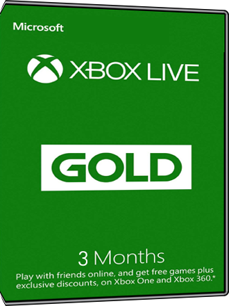 Xbox Live Gold - 3 month subscription [EU] Screenshot