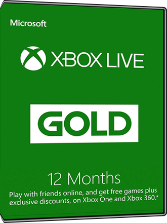 12 Months Xbox Live Gold 1 Year Subscription Mmoga