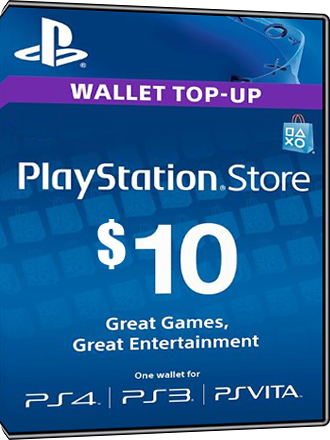 Playstation Network Card PSN Key 10 Dollar [USA] Screenshot
