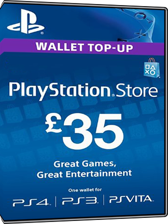 Playstation Network Card PSN Key 35 Pound [UK] Screenshot