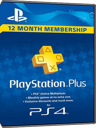 Playstation PLUS - PSN PLUS Card - 365 days - UK