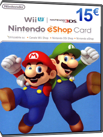 Nintendo Eshop Karte.Nintendo Eshop Card 15 Euro