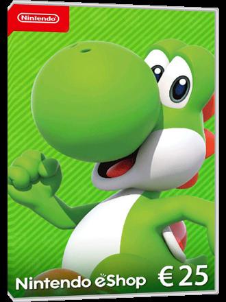 Nintendo eShop Card - 25 Euro