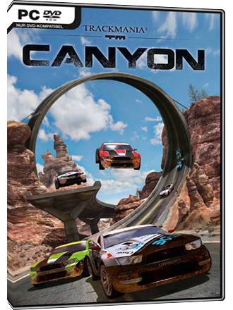 Trackmania 2 Canyon Screenshot