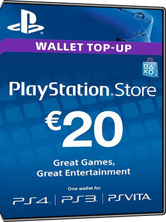 Buy Playstation Network Card 20 Euro Psn Card 20 Euro Fr