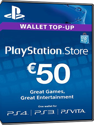 Playstation Network Card 50 Euro [FR] Screenshot