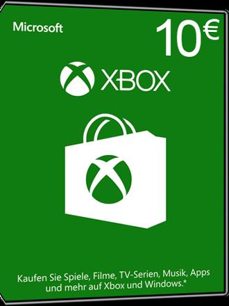 Buy 10 Euro Xbox Live Card Microsoft Giftcard Mmoga