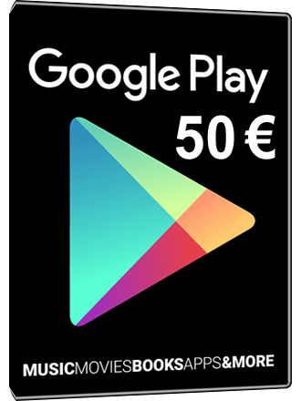 Buy Google Play Card 50 Euro 50 Giftcard Mmoga