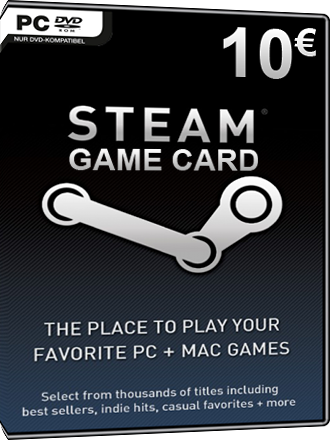 Buy Steam Game Card 10 Eur 10 Credit Mmoga