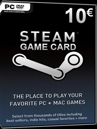 Steam Game Card 10 EUR