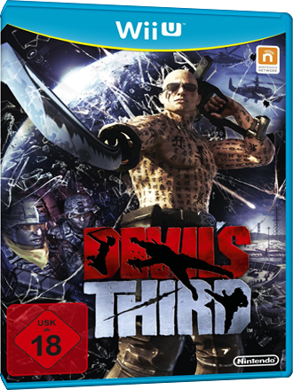 Devil's Third - Wii U Download Code Screenshot