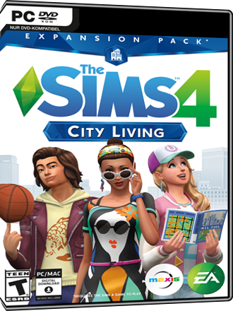 The Sims 4 - City Living (Expansion) Screenshot