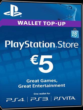 Buy PSN Card 5 Euro AT Playstation Network
