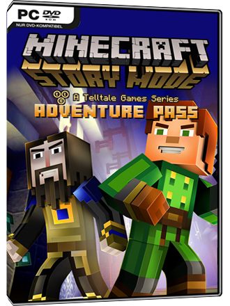 Buy Minecraft Story Mode Adventure Pass DLC MMOGA - Minecraft pc spiele kaufen