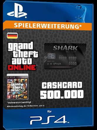 Buy GTA Online 500000 $, Bull Shark, PS4 - MMOGA