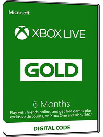 Xbox Live Gold - 6 month subscription [EU] Screenshot