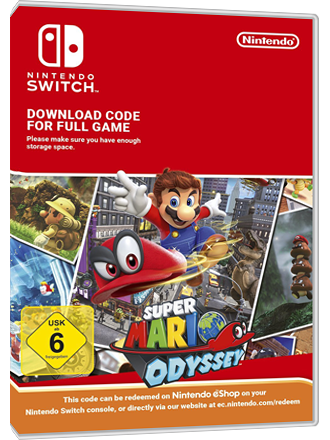 Super Mario Odyssey Nintendo Switch Download Code