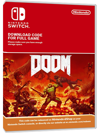 DOOM - Nintendo Switch Download Code Screenshot