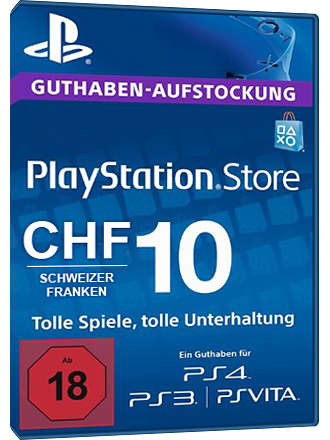 Playstation Chf Mmoga Card - Network Psn Buy Ch 10