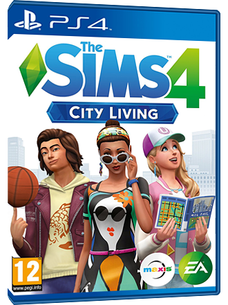 The Sims 4 [PS4] - City Living DLC - Germany