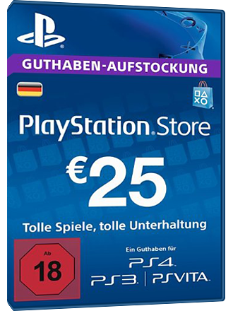Buy Psn Card 25 Euro De Playstation Network Mmoga