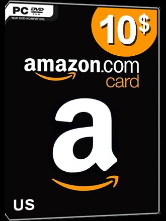 Amazon Card Us 10 Dollar
