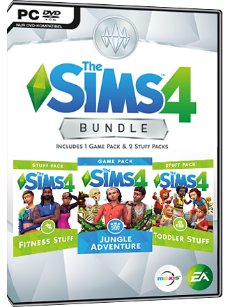 The Sims 4 - Jungle Adventure Bundle (DLC) Screenshot