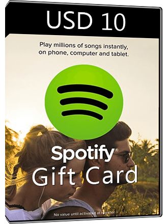 Spotify Gift Card USD 10 Screenshot