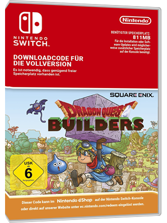 Dragon Quest Builders - Nintendo Switch Download Code Screenshot