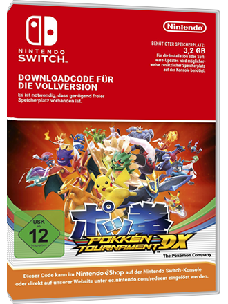 Pokken Tournament DX - Nintendo Switch Download Code Screenshot