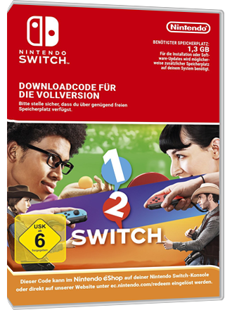 1-2-Switch - Nintendo Switch Download Code Screenshot