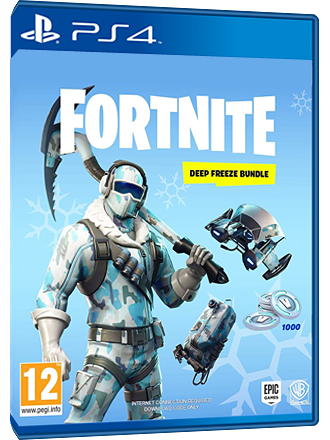 Fortnite Deep Freeze Bundle - PS4 Download Code