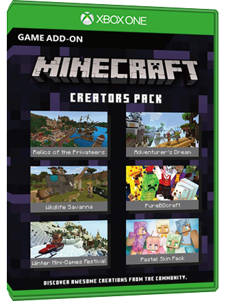 Minecraft Creators Pack (DLC) - Xbox One Download Code