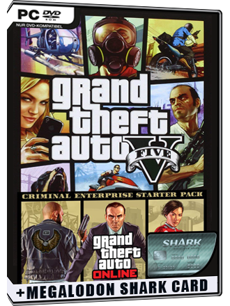 GTA 5 + Criminal Enterprise Starter Pack + Megalodon Shark Card Bundle Screenshot