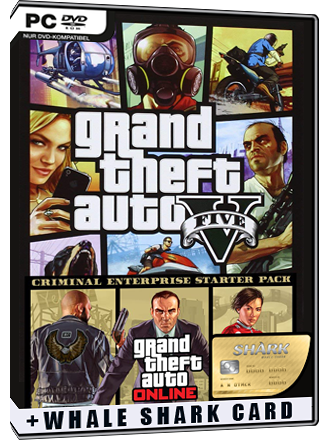 GTA 5 + Criminal Enterprise Starter Pack + Whale Shark Card Bundle Screenshot