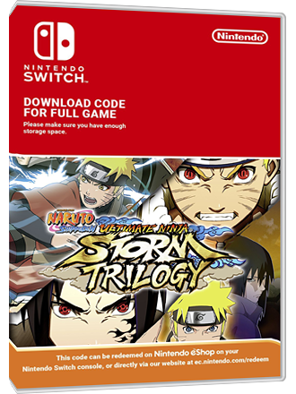 Naruto Shippuden Ultimate Ninja STORM Trilogy - Nintendo Switch Download Code Screenshot