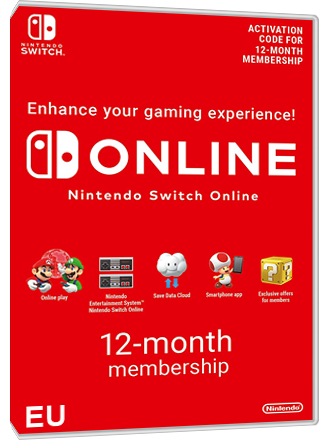 Nintendo Switch Online Membership - 12 months [EU]