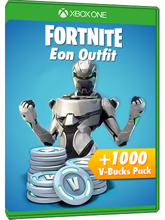 Fortnite Eon Outfit + 1000 V-Bucks Pack - Xbox One Download Code