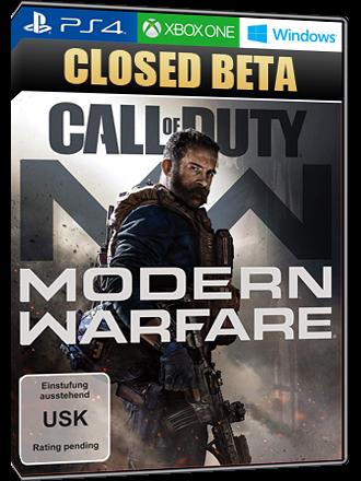 Call of Duty Modern Warfare (2019) - Closed Beta Key [PC, PS4, Xbox One]