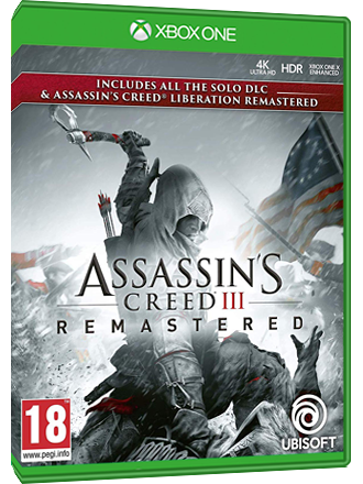 Assassin S Creed Iii Remastered Xbox One Code Mmoga