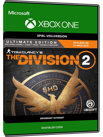 The Division 2 - Ultimate Edition (Xbox One Download Code) Screenshot