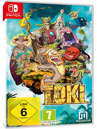 Toki - Nintendo Switch Download Code Screenshot