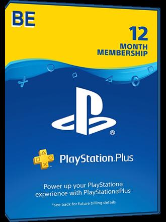 Playstation PLUS - PSN PLUS Card - 12 months - Belgium (BE)