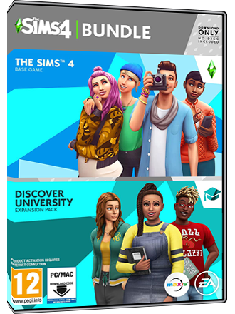 The Sims 4 + Discover University Bundle Screenshot