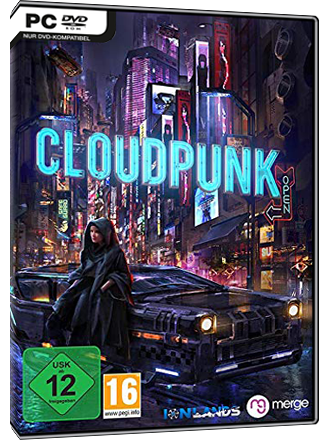 Cloudpunk Screenshot