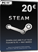 Steam Gamecard 20 EUR