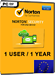 Norton Security (1 user / 1 year)